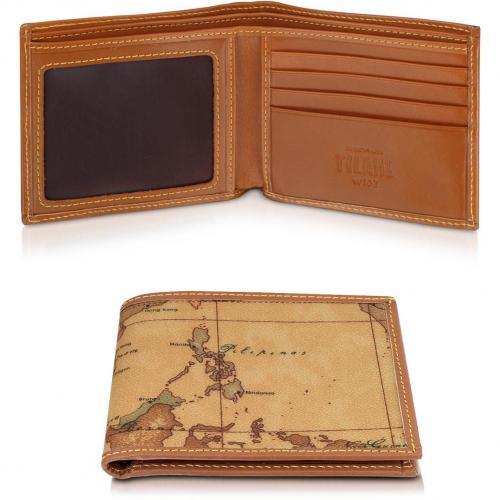 Alviero Martini 1A Classe Brieftasche mit ID-Fenster für Herren