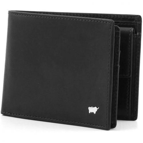 Braun Büffel Basic Leder schwarz 12,5 cm
