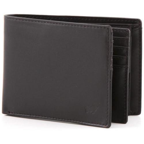 Braun Büffel Chaplin Geldbörse Leder braun 12 cm