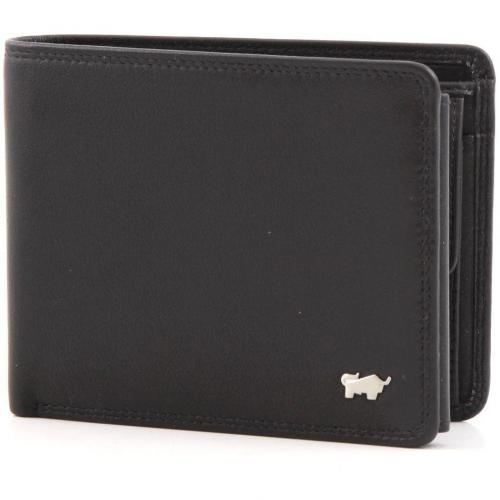 Braun Büffel Golf Geldbörse Leder black 12 cm