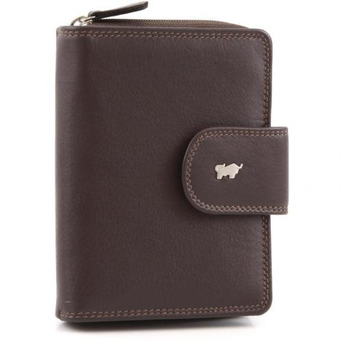 Braun Büffel Golf Geldbörse Leder braun 12,5 cm