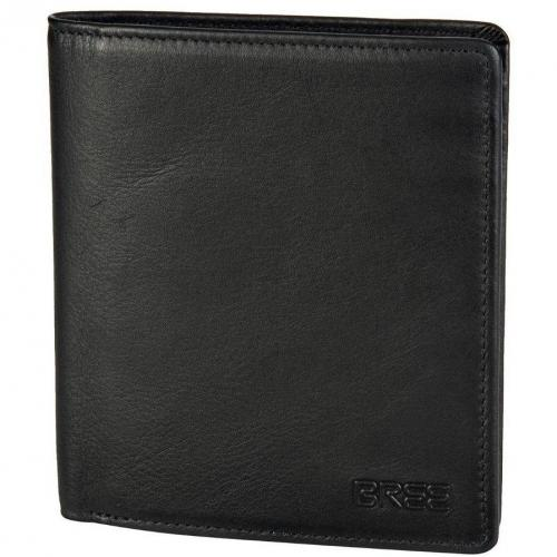 Bree Pocket 113 12 cm Geldbörse black soft