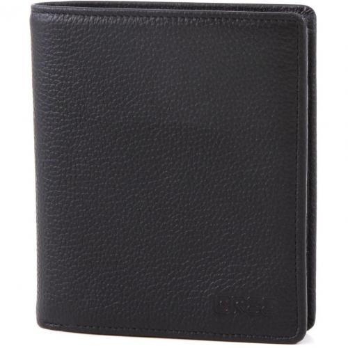 Bree Pocket 113 Geldbörse Leder schwarz 12,5 cm