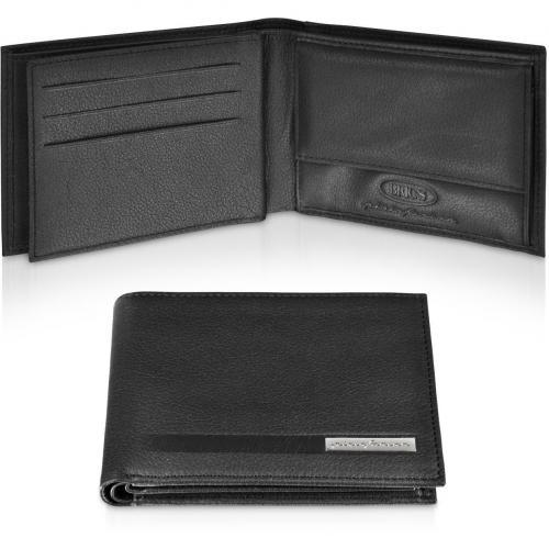 Bric's Pininfarina Brieftasche aus Leder mit ID Fenster