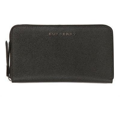 Burberry Lederbrieftasche mit Langem Reißverschluss