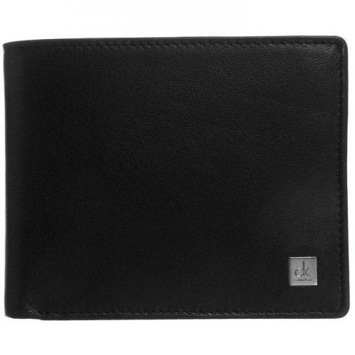 Ck Calvin Klein Geldbörse black mit 2 Scheinfächern