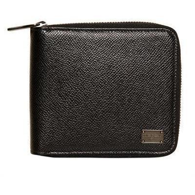 Dolce & Gabbana Brieftasche mit Reißverschluss aus Dauphine Leder