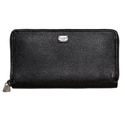 Dolce & Gabbana Continentale Brieftasche mit Reißverschluss