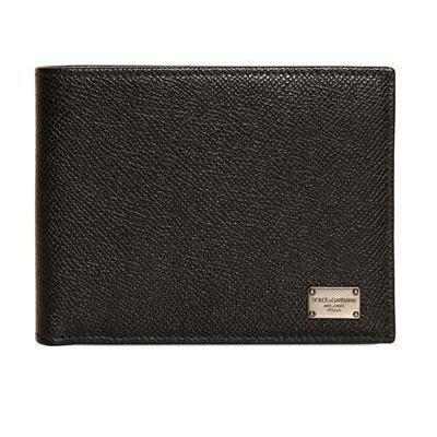 Dolce & Gabbana klassische Brieftasche aus Dauphine Leder
