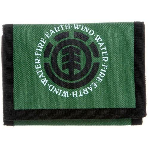 Element Elemental Wallet Geldbörse green/black
