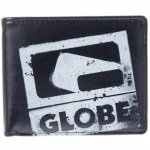 Globe Corroded Wallet Geldbörse black