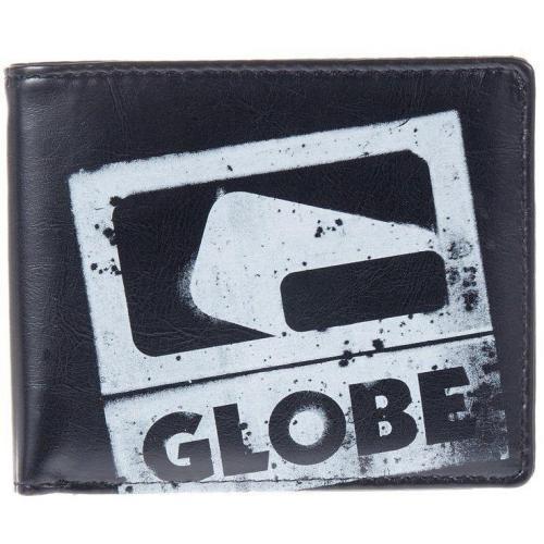 Globe Corroded Wallet Geldbörse black