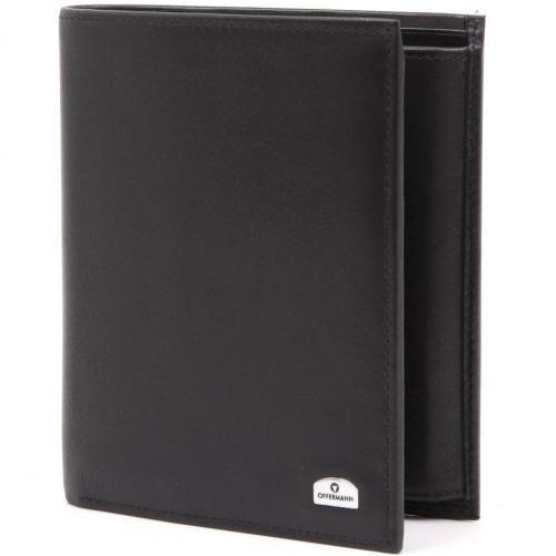 Offermann Ascona Edition Geldbörse Leder schwarz 12,3 cm