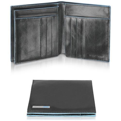 Piquadro Blue Square Herren Portemonnaie aus Leder
