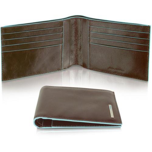 Piquadro Blue Square Herrenportemonnaie aus Leder