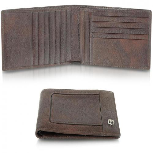 Piquadro Vibe Herren-Portemonnaie aus Leder