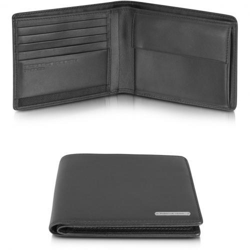 Porsche Design CL 2.0 Portemonnaie aus schwarzem Leder