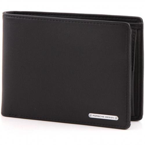 porsche design cl2 2 0 brieftasche schwarz 11 5 cm. Black Bedroom Furniture Sets. Home Design Ideas