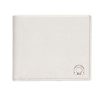 Salvatore Ferragamo Melrose Perforierte Brieftasche aus Leder