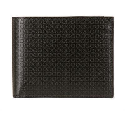 Salvatore Ferragamo Mini Gancio klassische Brieftasche aus Leder