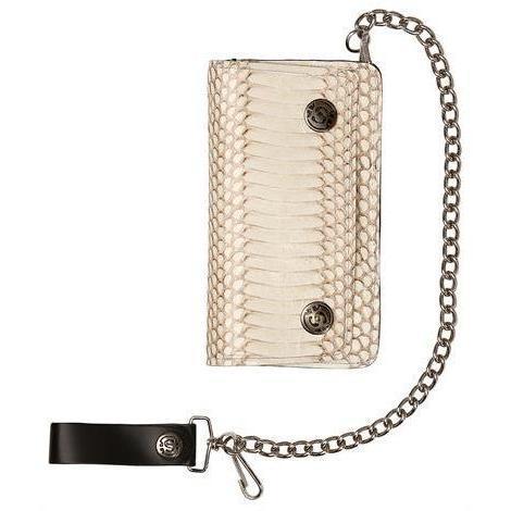 Sendra Brieftasche aus Kobra mit Kette