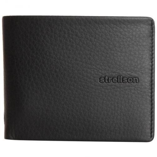 strellson Wallet schwarz