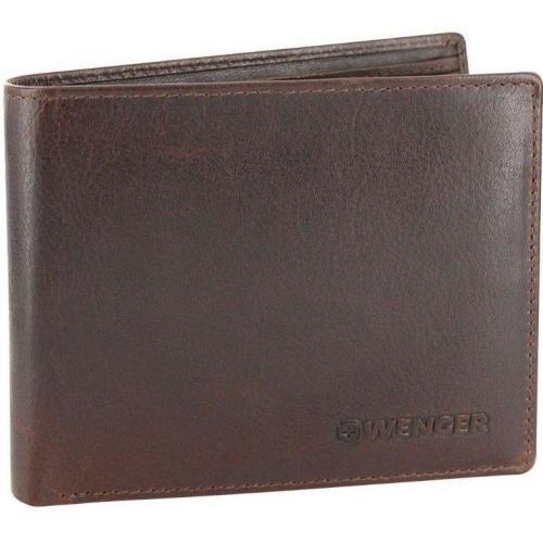 Wenger Rautispitz 13 cm Geldbörse dunkelbraun