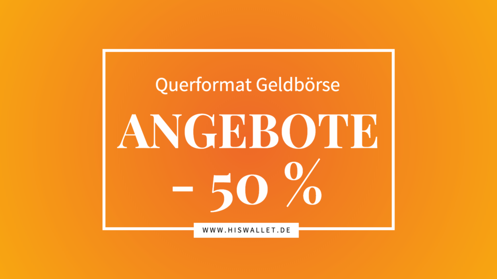 Querformatbörse SALE