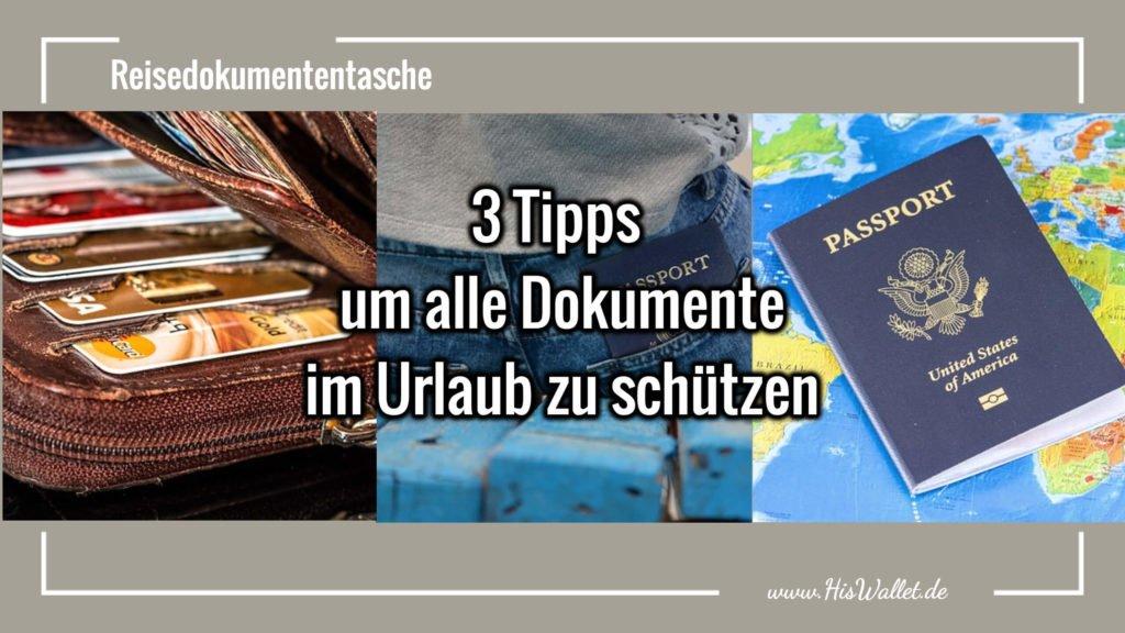 Reisedokumententasche