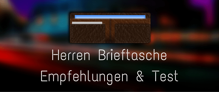 Herren Brieftasche