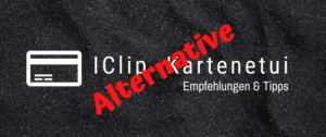 I Clip Kartenetui Alternative