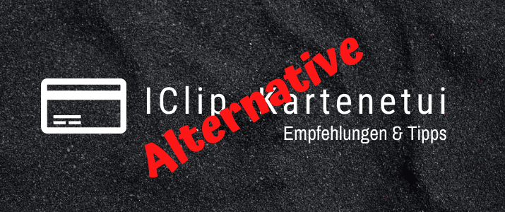 I Clip Kartenetui Alternative