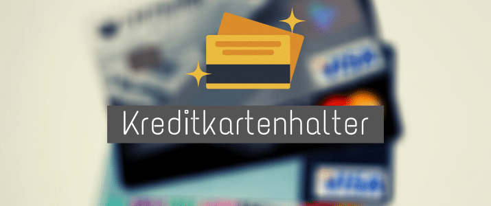 Kreditkartenhalter