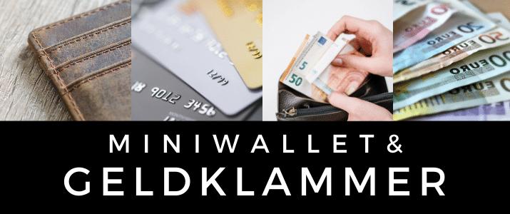 Miniwallet mit Geldklammer