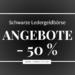 SALE: Schwarze Ledergeldbörse